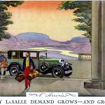 1927 Cadillac LaSalle grows